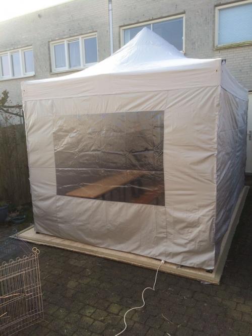 EHBO tent 4x4