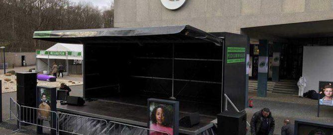 Mol podium